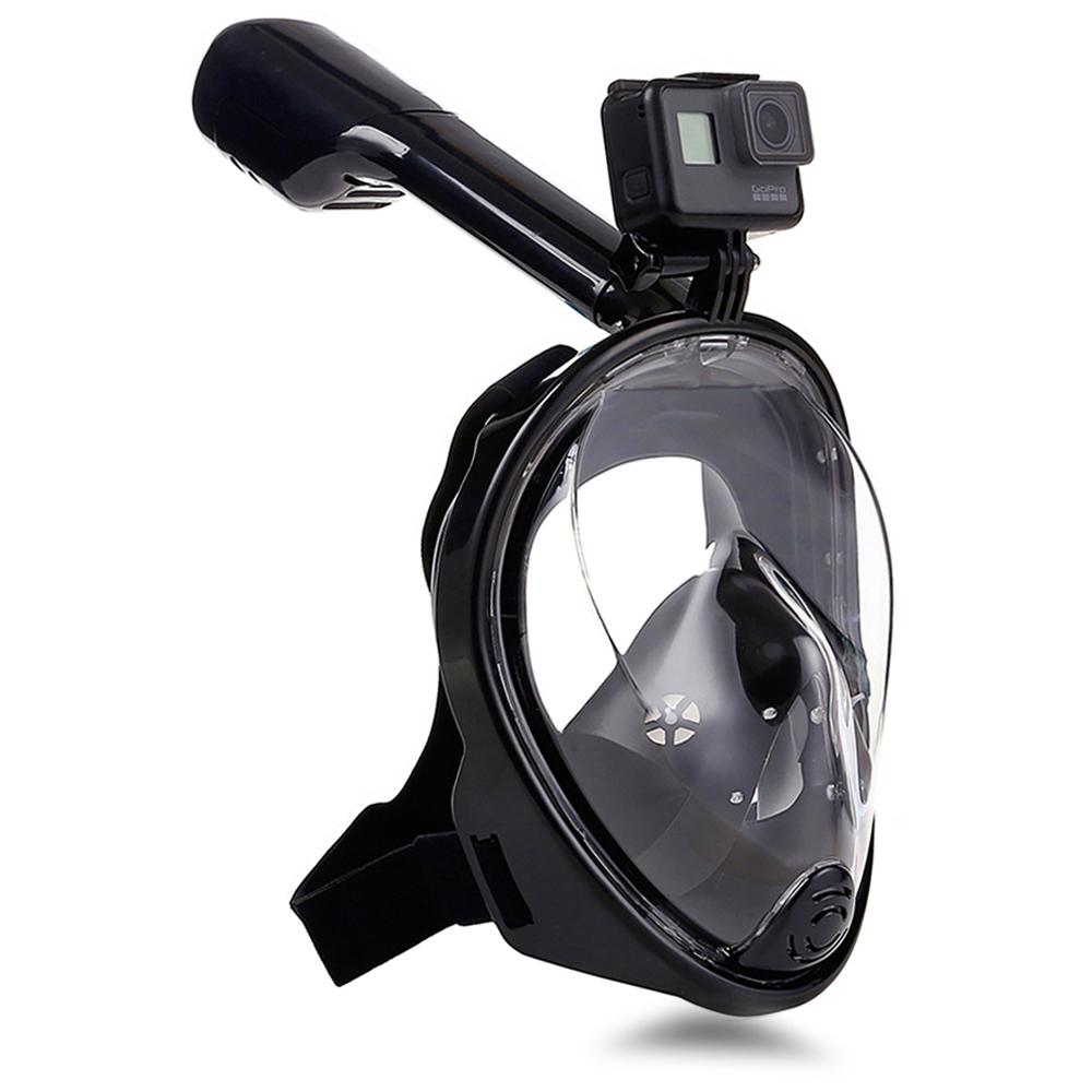 Snorkeling Masks Panoramic View Anti-fog Anti-Leak Swimming Snorkel Scuba Underwater Diving Mask GoPro Compatible