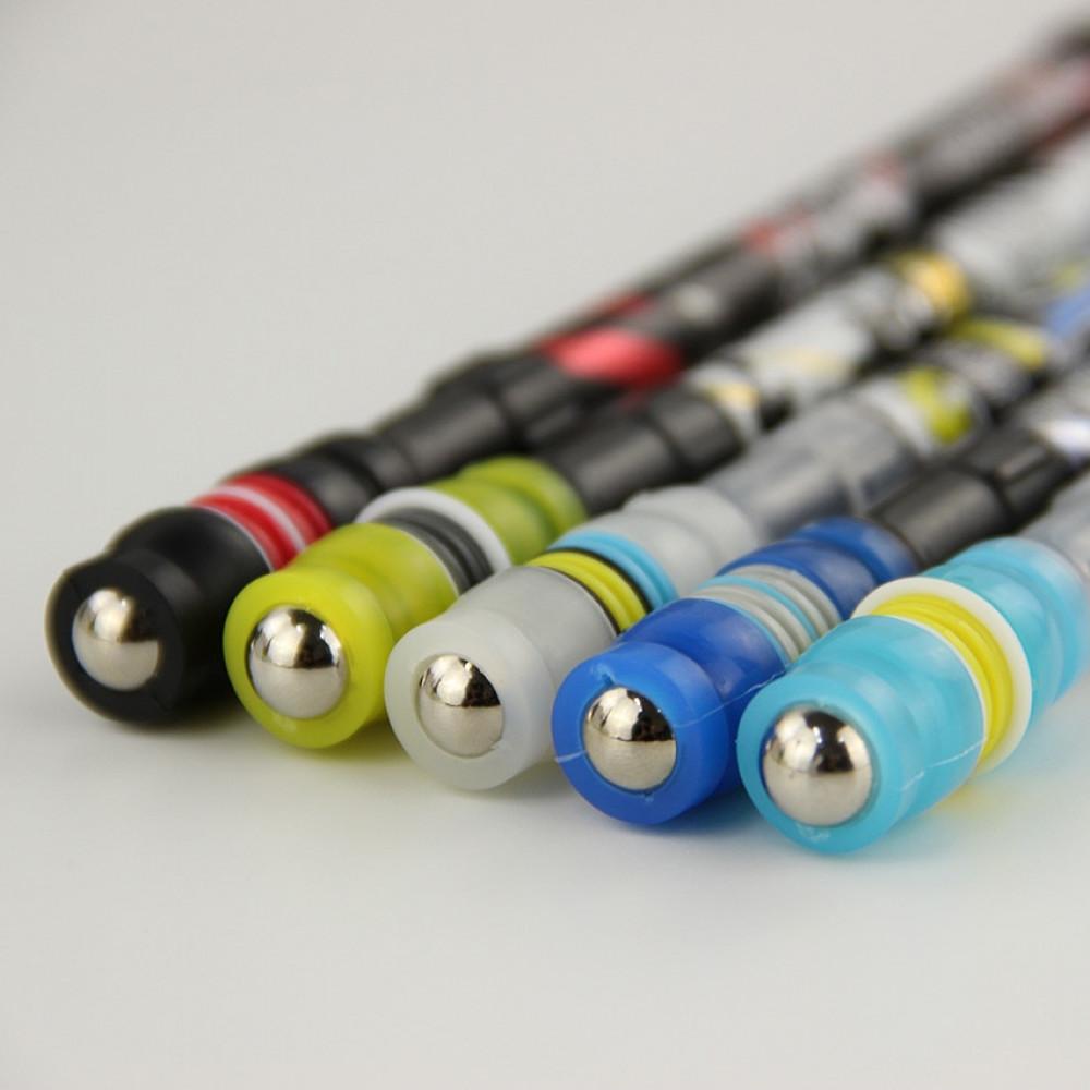 PEN SPINNING  - plidspalvas griešana - pretslidēšanas pildspalva ar metāla lodītēm jaunajai spēlei - penspinningam