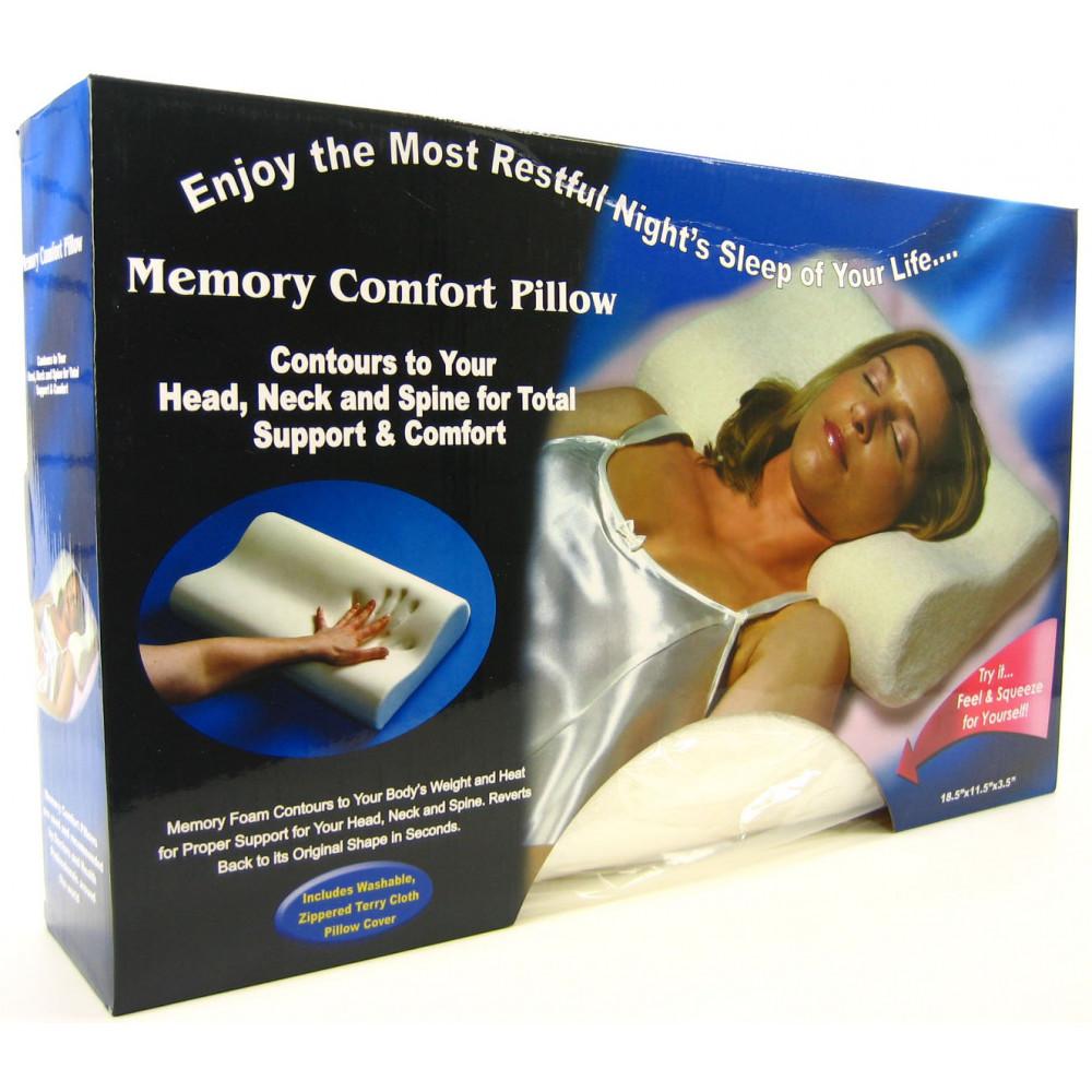Ortopēdiskais spilvens Memory Pillow ar atmiņas efektu