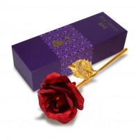Valentine's Day Present Gift 24K Gold Plated Golden Rose