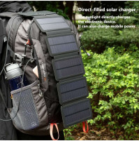Portable Wallet Photovoltaic Solar Power System 11W