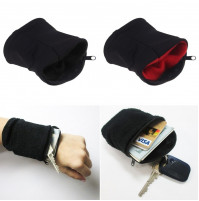 Sport  Wrist Zipper Wallet for Travel, Gym, Cycling, Wallet