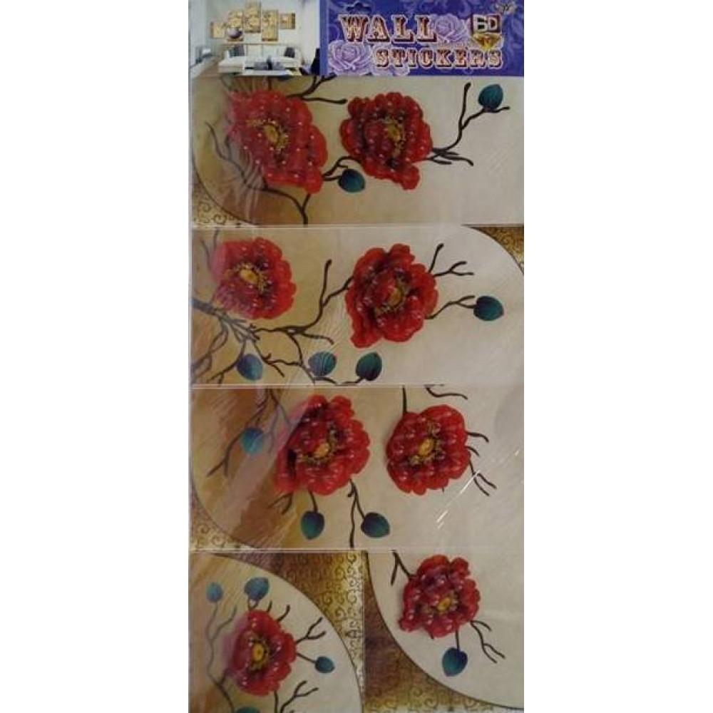 3D wall sticker Flowers