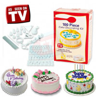 100 piece cake decorating kit Decorator's Delight
