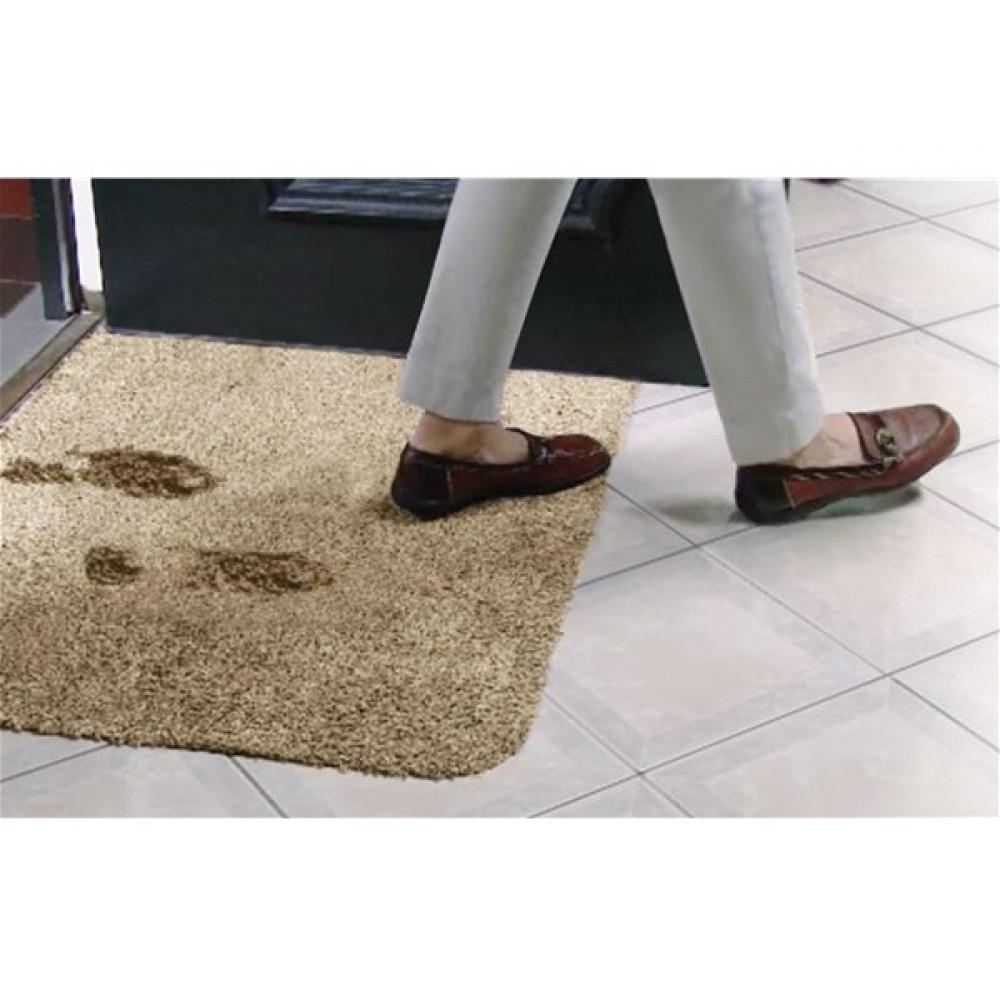 Clean Step Mat Mīksts kāju paklājiņš, kas lieliski absorbē mitrumu un netīrumus