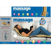 Reversible Motor 9 speed Sheepskin Massager