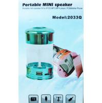 Portatīvais multimēdiju mini mediju centrs ar ūdens dēju