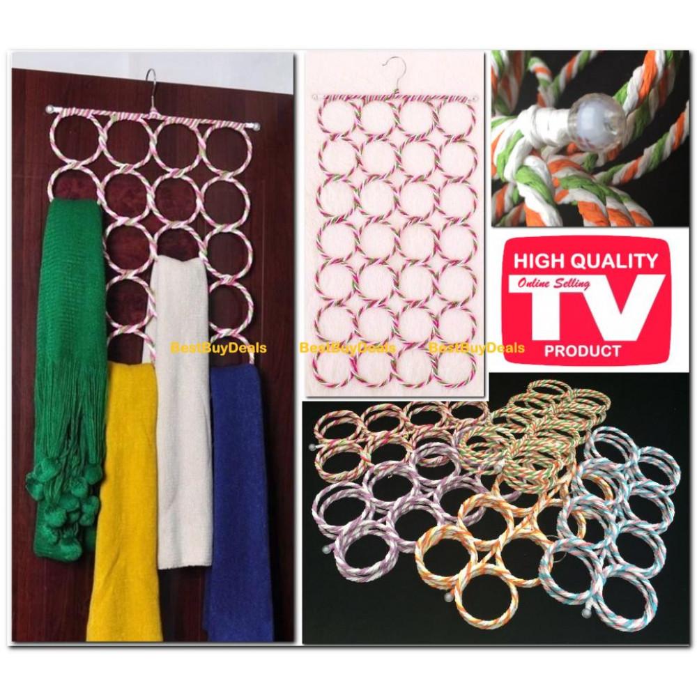 28 Ring Scarf Hanger