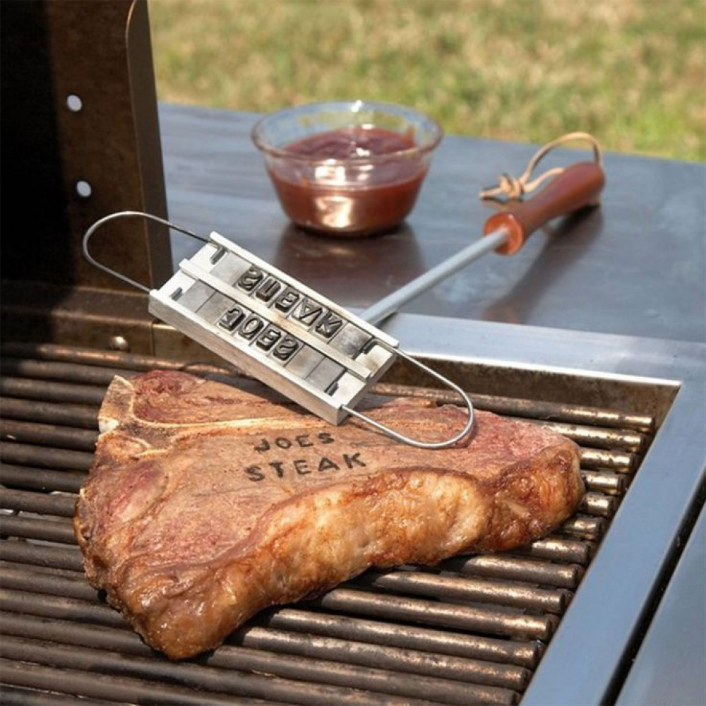 DIY BBQ Tool Barbecue Grill Branding