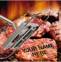 BBQ aksesuārs, instruments priekš gaļas cepšanas, personalizēto steiku pagātavošanas