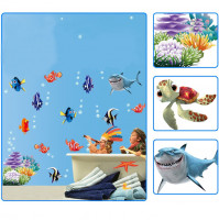 Children room wall sticker decall decor Aquarium