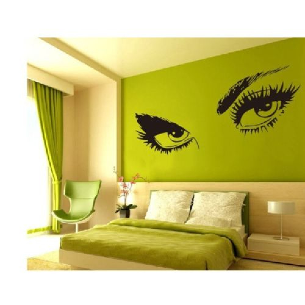 Audrie Hepburn eyes - Removable Vinyl Wall Stickers Decoration Decal ...