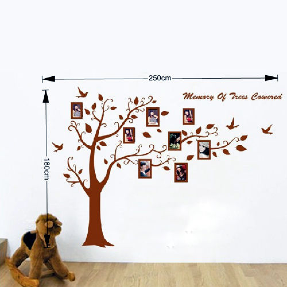 Children room wall sticker decall decor Family Tree