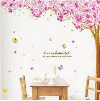 Istabas sienas dekors Love is beautyful
