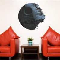 Room wall sticker decall decor Star of Death from Star Wars