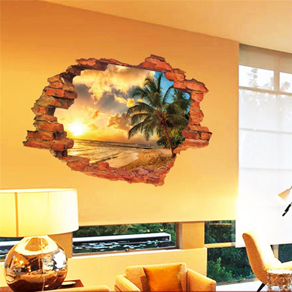 Children room wall sticker decall decor - summer holeIdeas for ...