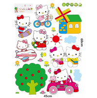 HELLO KITTY cartoon wall sticker kids rooms