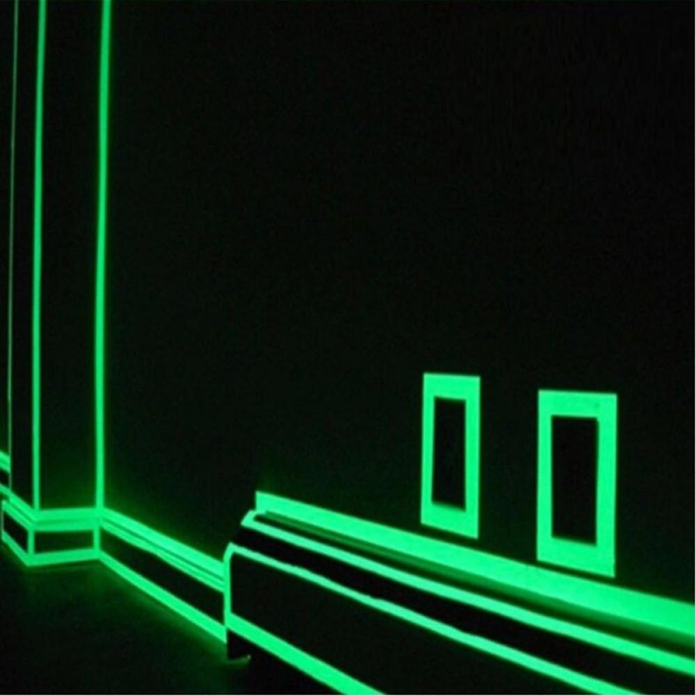 Luminiscentās uzlīmes - līstes