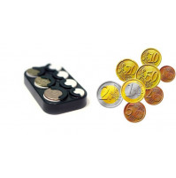 Euro coin tray money box
