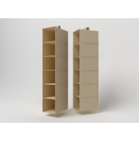Foldable shelf-organiser 15 х 30 x 120 cm