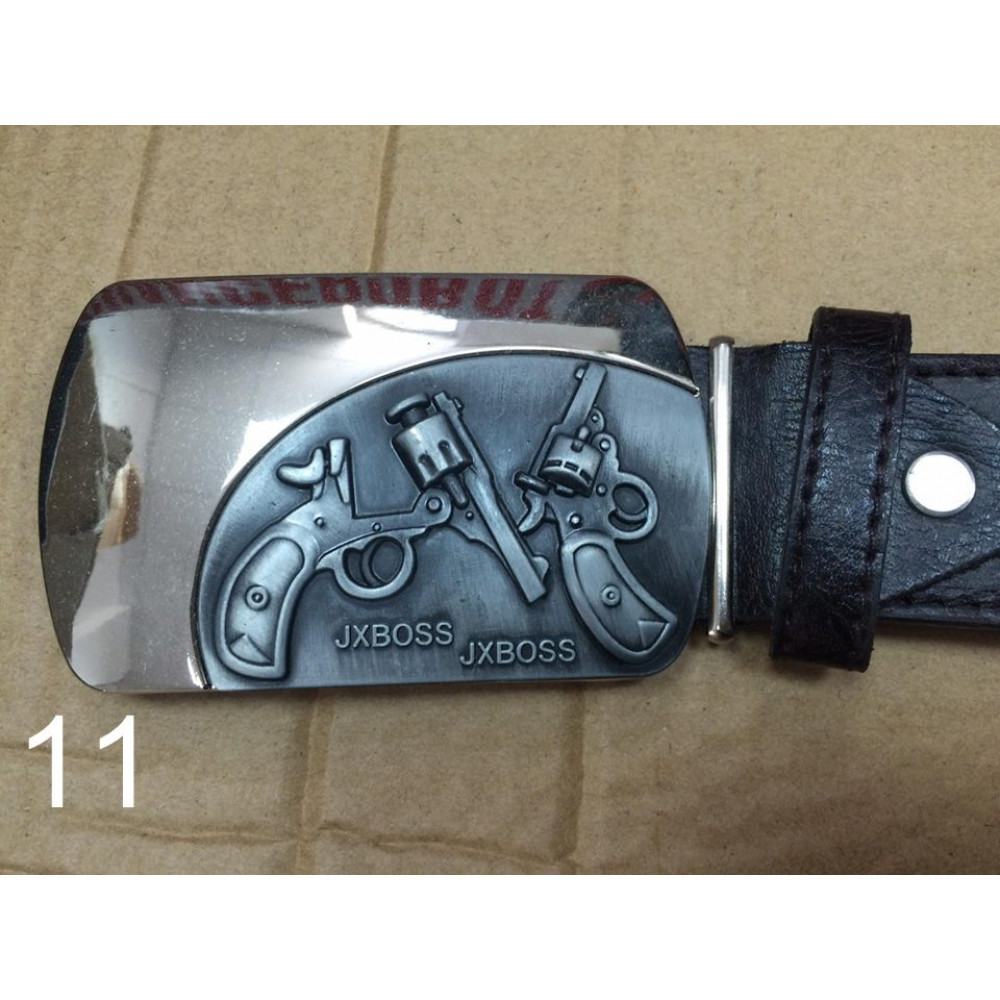 Belt with original buckle