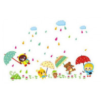 Rain Drops Removable Vinyl Wall Stickers Decoration Decal Mural Room Family Art