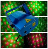 Zvaigžņotas debesis lazera skatuves DISKO-gaismu projektors