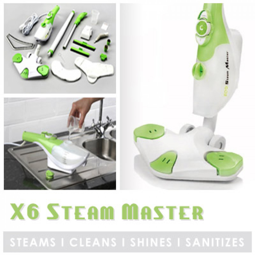 Steam Mop Steam Master x6