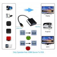 VGA to HDMI or HDMI to VGA video adapter / converter
