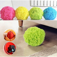 Automatic Rolling Vacuum Floor Sweeping Robot Cleaner Microfiber Ball Cleaning With 4Pcs Colorful Cleaning Covers