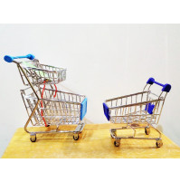 Office organizer - store shopping carts