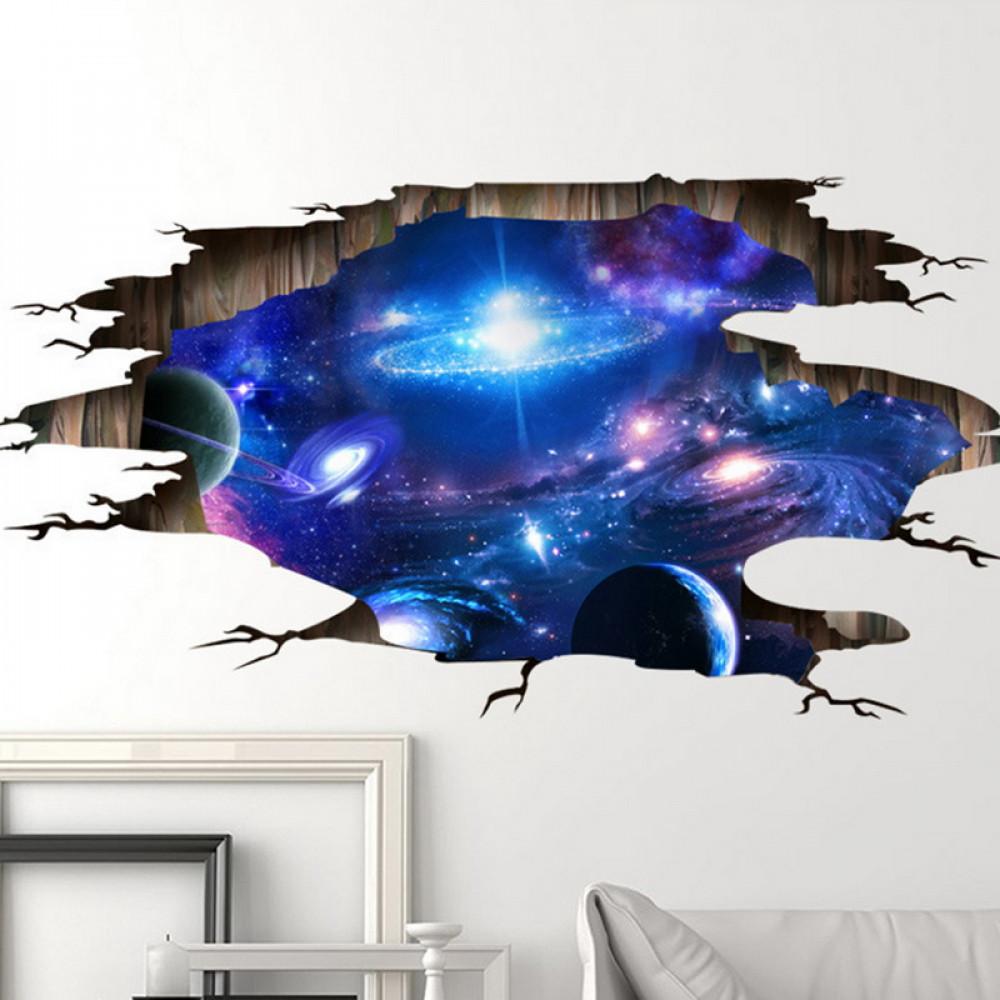 Istabas sienas vai gridas dekors - Dziļš kosmoss