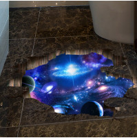 Room wall or floor sticker decall decor - Deep Space