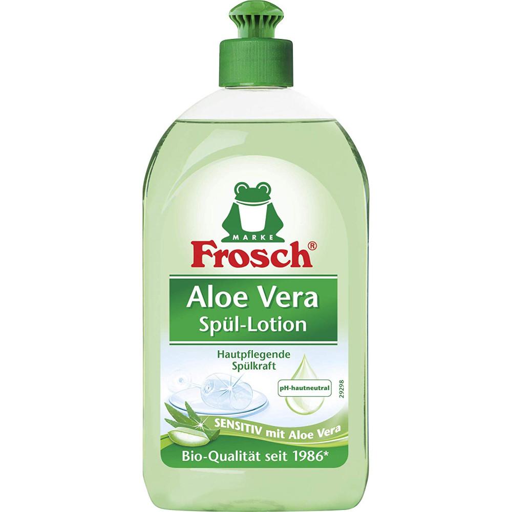 Trauku mazgāšanas šķidrums Frosch Aloe Vera, 500 ml