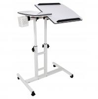 Ergonomic adjustable laptop table