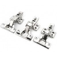 Stainless Steel Door Hydraulic Hinges Damper Buffer Soft Close For Cabinet Kitchen