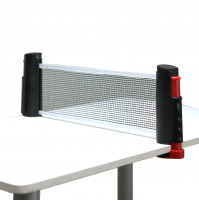 Portable Retractable Telescopic Table Tennis Net Rack Replacement for Ping Pong