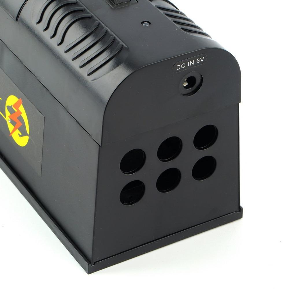 Elektriskais žurku un peļu slazds - elektriskas strāvas augstsprieguma grauzēju iznīcinātājs