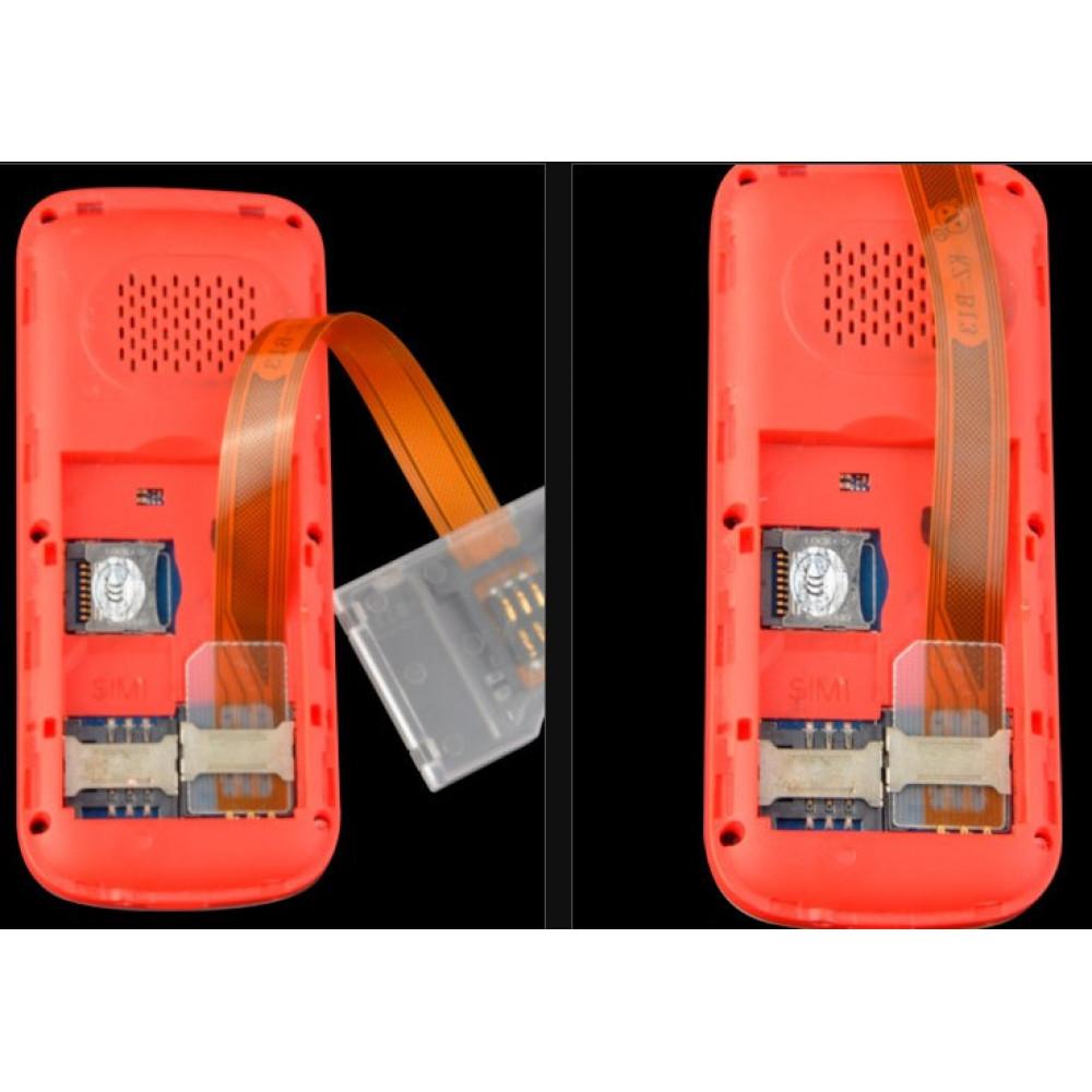 Big SIM Card Turn To Small SIM Card Converter