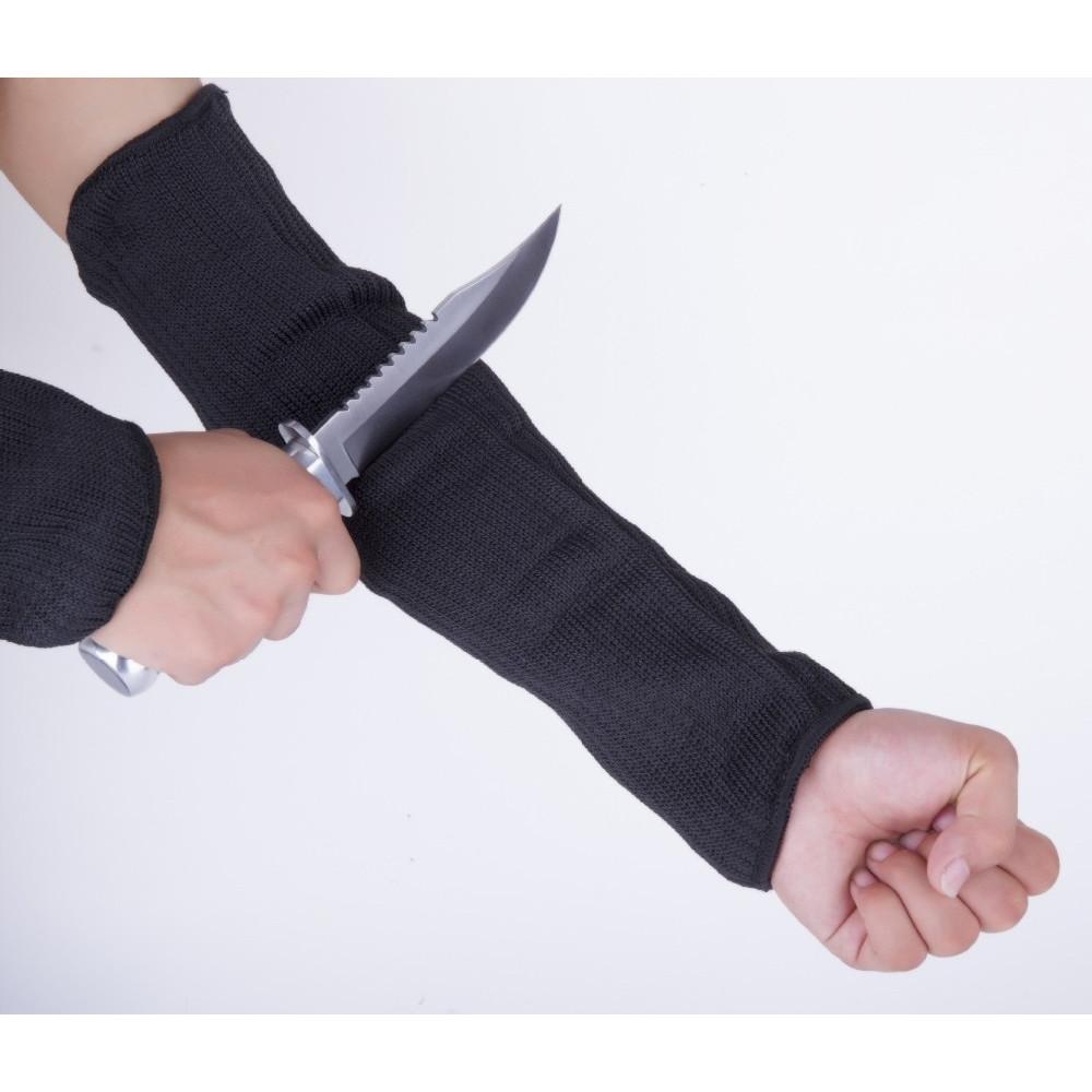 Aizsargpiedurkne rokas aizsardzībai no noberzumiem no kevlara škiedras sieta