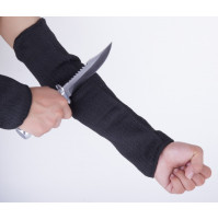 Steel Wire Butcher Anti Cut Gloves Cut Proof Arm Sleeve Guard Bracer Work Safety Gloves Armband Wrist Protector Labor Tool