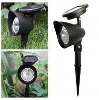 Garden LED lamp with solar battery