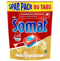 Somat Tabs 12 Gold Pack of  80 tabs - 1.616 kg x 2