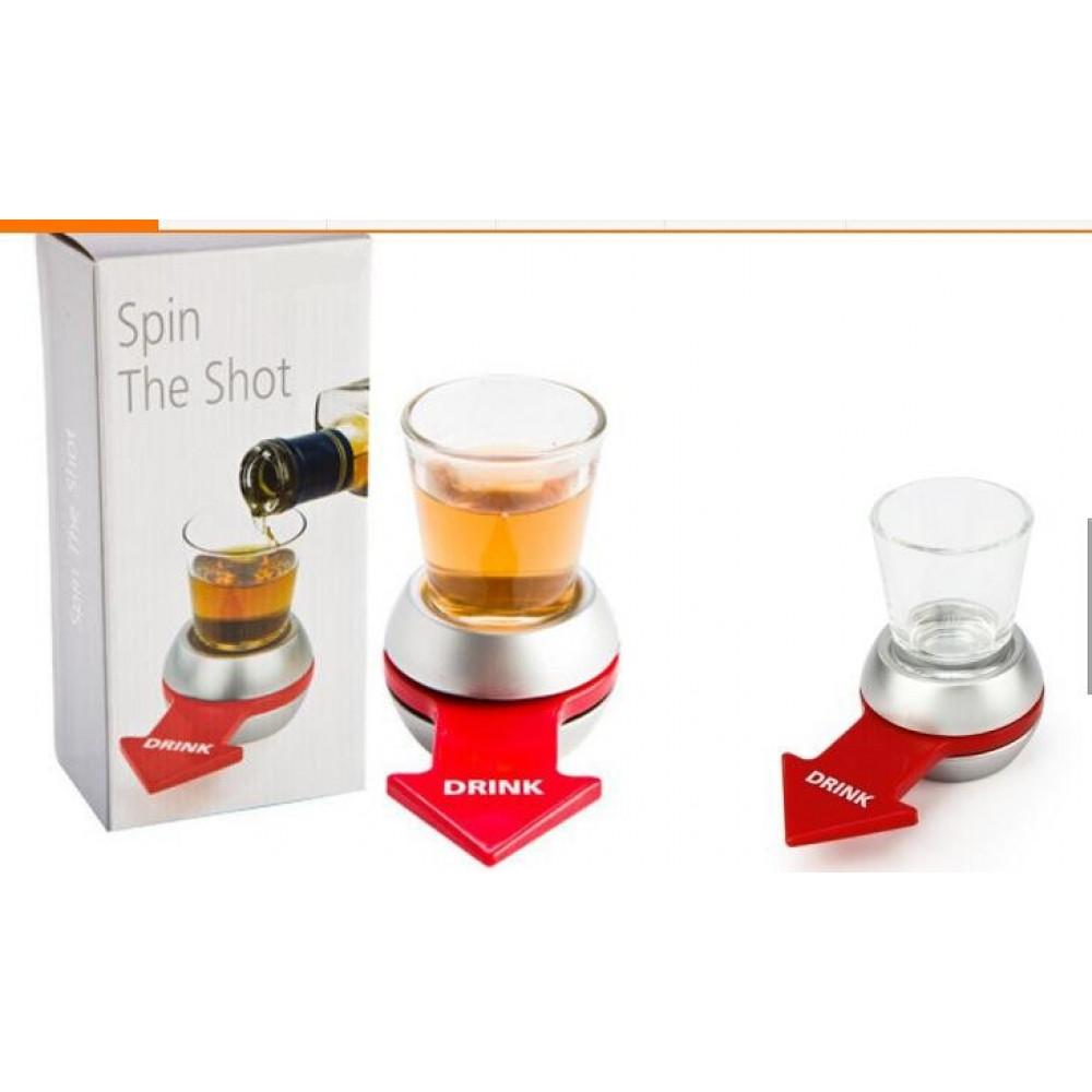 Pieaugušo spēle Griežām glāzīti - alkohola rulete