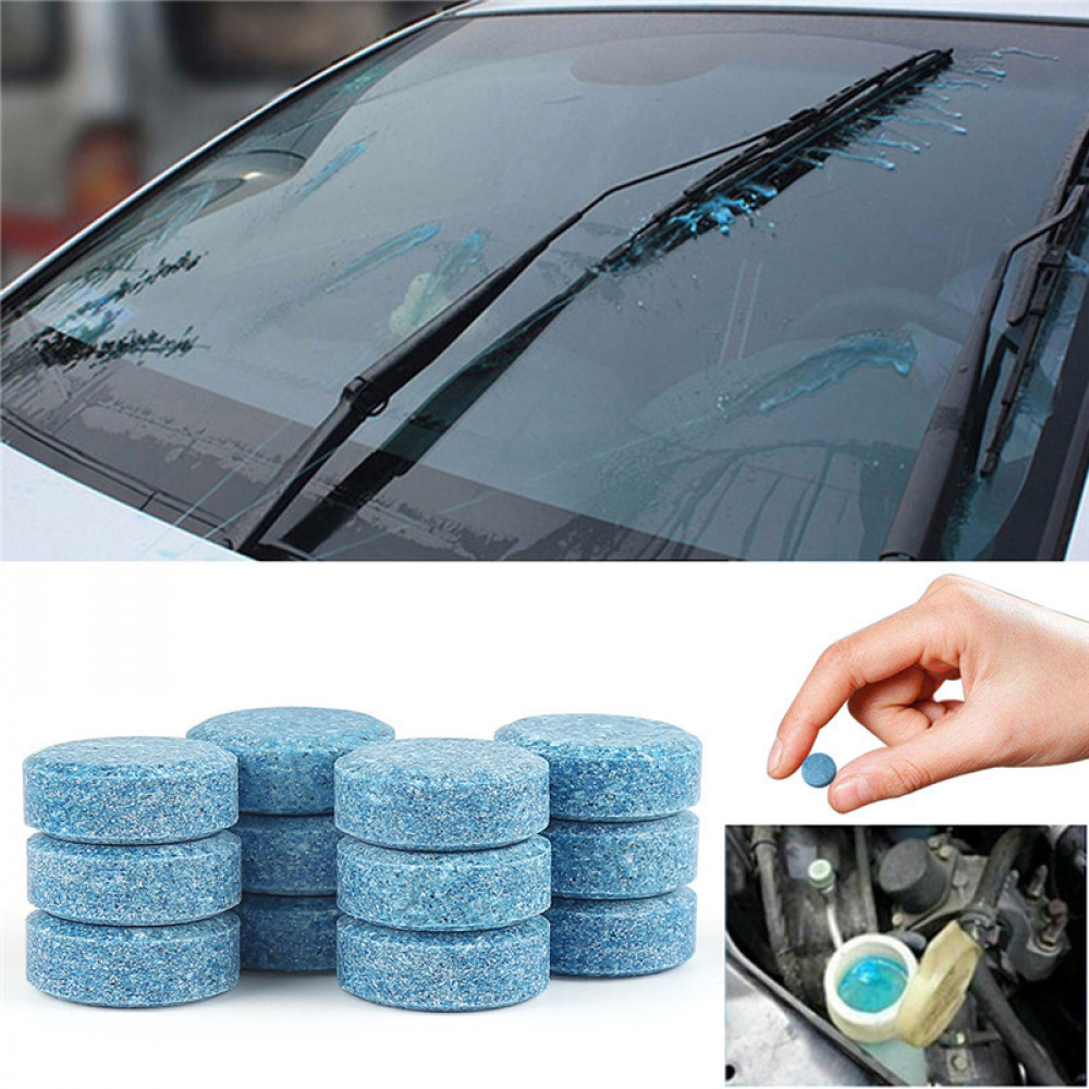 Car Windshield Cleaning Concentrate Glass Cleaner Tablett