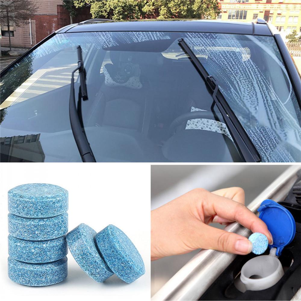 Auto vējstikla tīrīšanas koncentrāts - stiklu tīrītājs tabletē