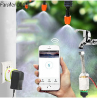 Phone Wifi Controlled Garden Irrigation System - Drip irrigation Garden Watering Timer Automatic Sockets Home Timer Autoplay