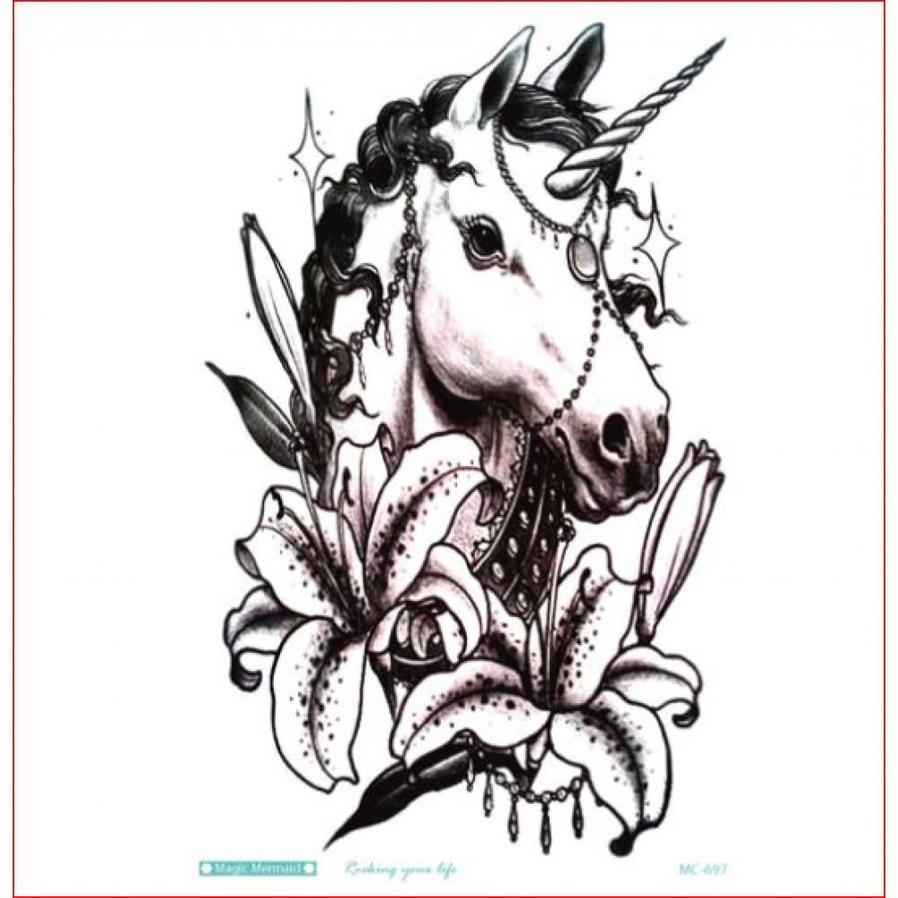 Dažādu dizainu laicīgs tetovējums