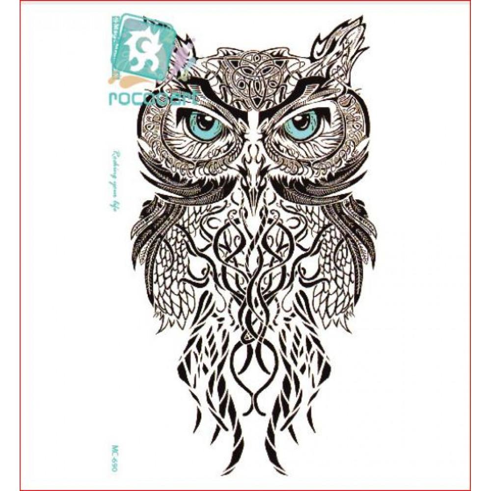 Dažādu dizainu laicīgs tetovējums v2