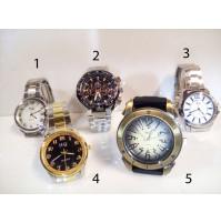 Stīlīgs vīriešu rokas pulkstenis HQ ar metālisku siksniņu